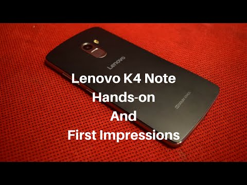 Lenovo K4 Note Review Videos