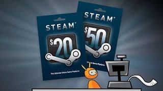 Как получить деньги на Стим бесплатно. Бесплатные деньги на Steam.