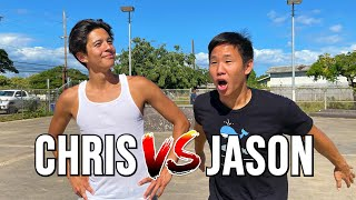 CHRIS CHANN VS JASON PARK GAME OF SKATE | ANYTHING COUNTS!