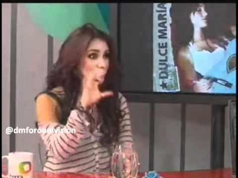 Dulce Maria En Chat Terra Colombia Parte 4 (02 09 2010)
