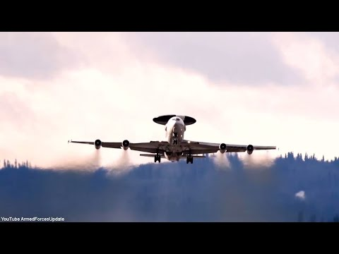 US Air Force RED FLAG Alaska 2018 Military Aircraft Training Exercise