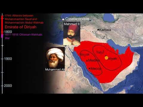 Emirate of Diriyah as the first Saudi State