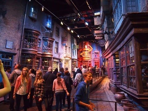 Warner Bros. Studio Tour London The Making of Harry Potter March 2015 HD