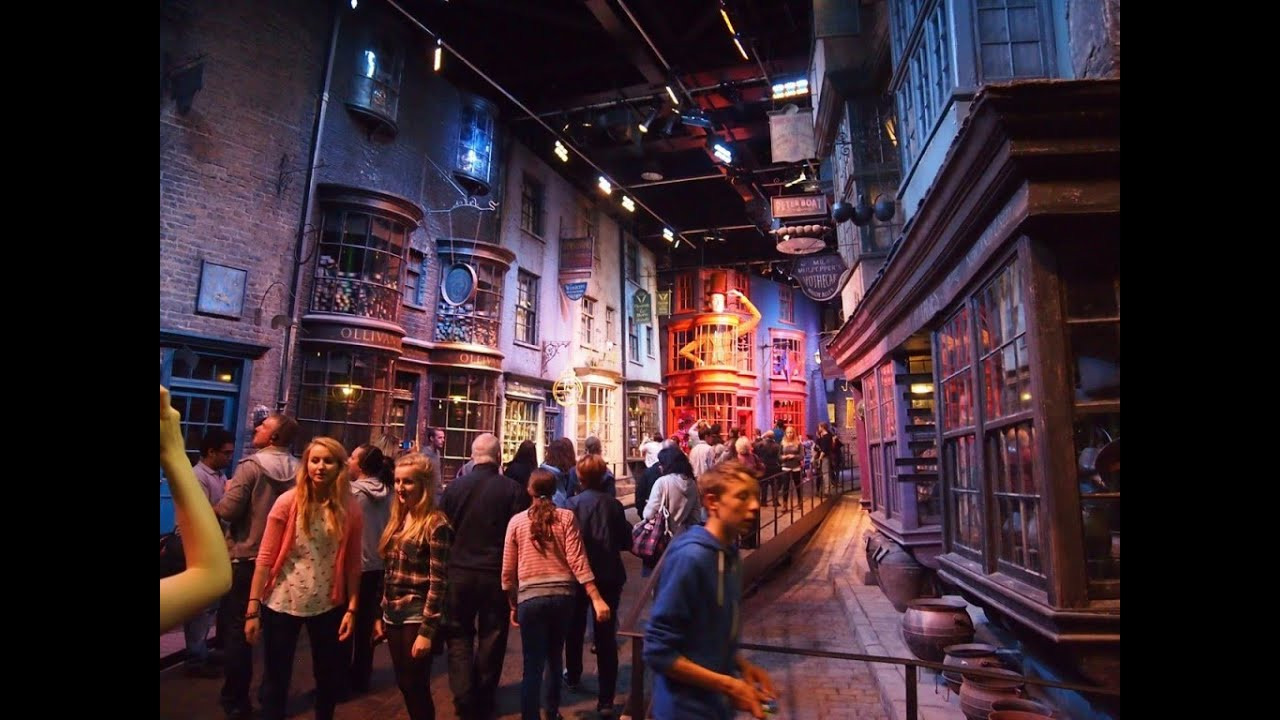 Warner Bros Studio Tour London The Making Of Harry Potter March 2015 Hd
