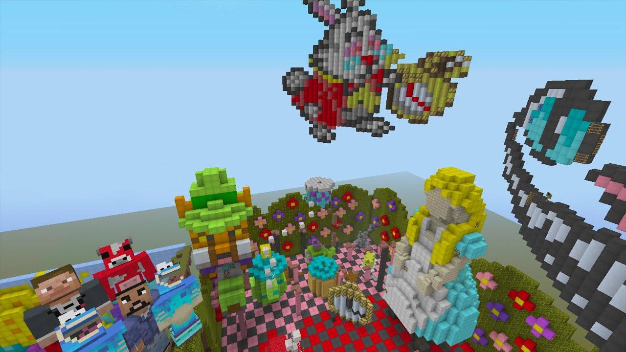 Minecraft Alice Wonderland