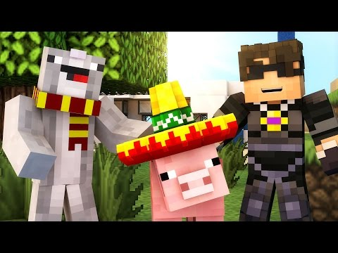 ACCIDENTAL TREASURE HUNTERS! | Minecraft Adventure Map MAY DAY! /w Facecam