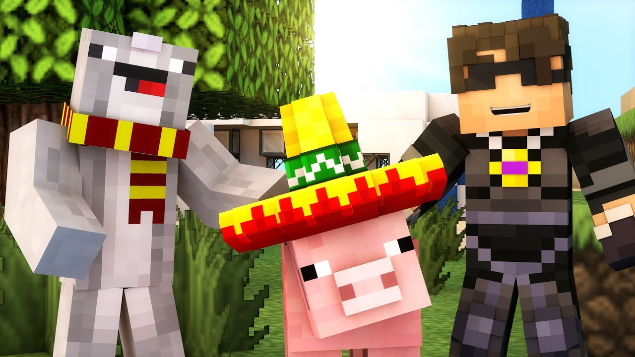 ACCIDENTAL TREASURE HUNTERS! | Minecraft Adventure Map MAY DAY! /w ...