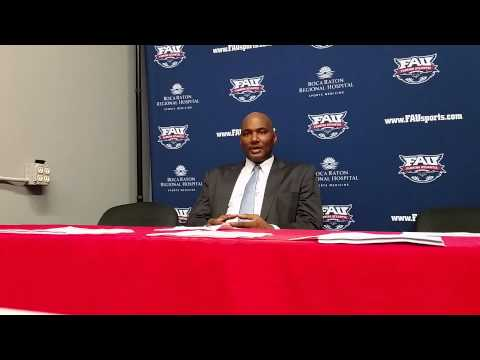 FAU Basketball vs. E. Kentucky Press Conference