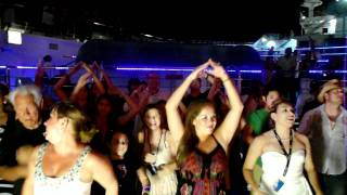Lido Deck Party On Carnival Conquest - Ymca