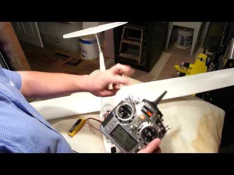 Tower Hobbies / ST Model / Sheng Teng -  Arcus M - Build Video - Part 4