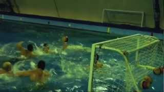 Hungarian traditional water polo training