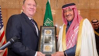 CIA Gives Saudi Prince An Anti-Terror Award