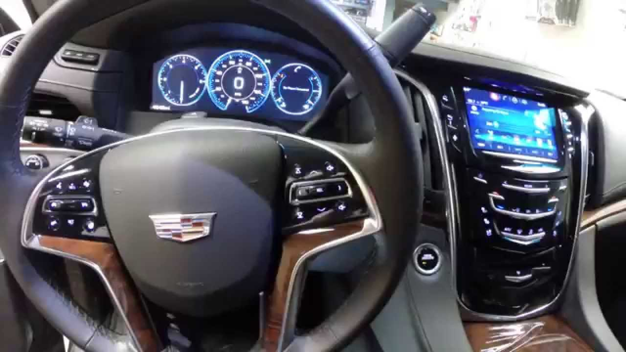 2015 Escalade Radio and Center console removal - YouTube