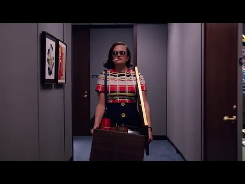 Elisabeth Moss Mad Men S07E13