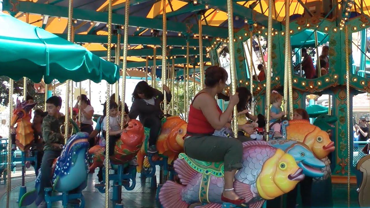 King Triton S Carousel Disney California Adventure