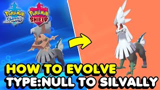 How To Get & Evolve Type: Null In Pokemon Sword & Shield (Unique Pokemon)