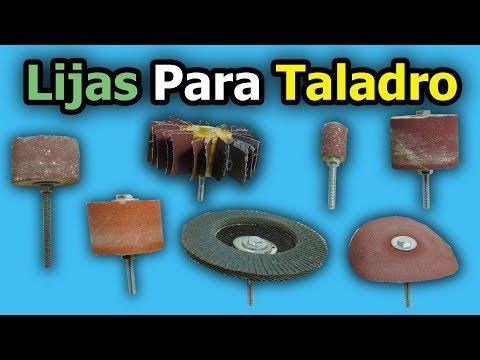 Lijas Para Taladro | Como Hacer Accesorios Caseros Para Taladro