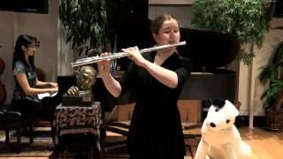 Opus 4 Studios: Brooke Lambert, flute: Ungarische Rhapsodie, Op. 385 - Popp