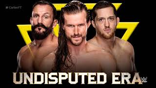 """The Undisputed Era 1st and NEW WWE Theme Song - """"Undisputed"""" with Arena Effects"""