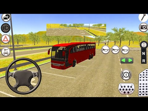 Travego Bus Simulator Game 2018 - Android Gameplay FHD