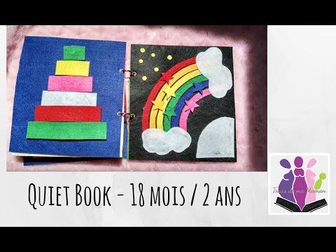 Quiet Book Le Livre D Activites Pour Les 18 Mois 2 Ans