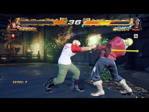 Tekken 7 유후(로우) vs...