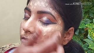 North Indian Wedding |BridalMakeup|Dramatic Eye Makeup tutorial