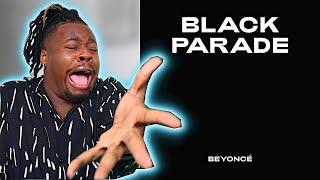 """BEYONCE """"BLACK  PARADE"""" REACTION!"""