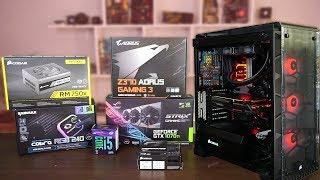 Ensamblado PC Gamer en un Corsair 570x con GTX 1070TI e I5 8400