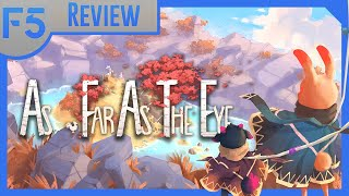 As Far as the Eye Review: Race the Flood! (Video Game Video Review)