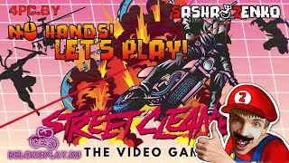 Street Cleaner: The Video Game Gameplay (Chin & Mouse Only)