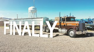 Beautiful Trailer For A Beautiful Truck - IH 9370 Eagle ♥ Demco Trailer