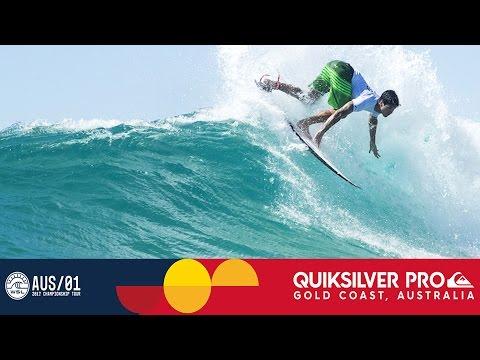 Slater vs. Coffin vs. Medina - Quiksilver Pro Gold Coast 2017 Round Four, Heat 4