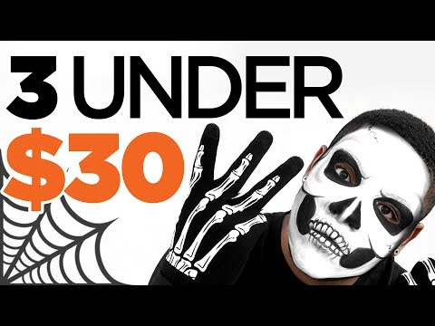 3 Last Minute Halloween Costumes Under $30 | 🎃 🦇 🕷  Quick, Simple & Easy Men's Outfit Try On Haul