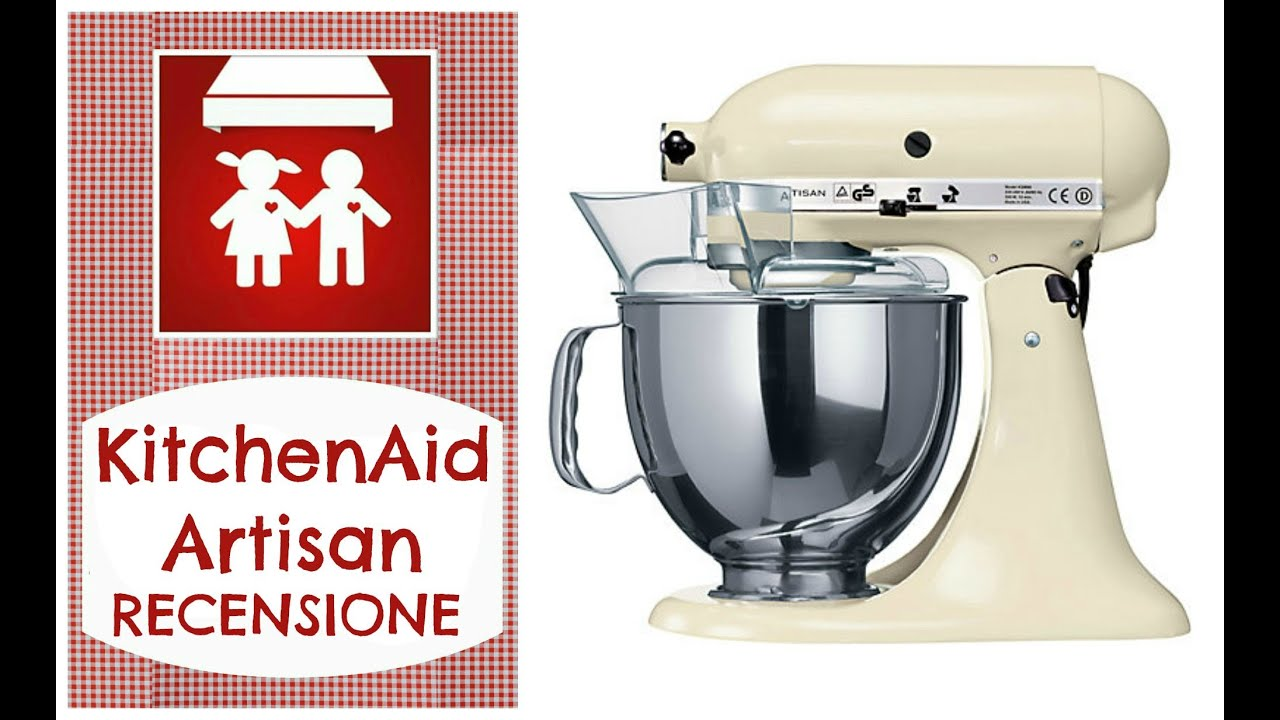 recensione kitchenaid artisan 2c k doovi. Black Bedroom Furniture Sets. Home Design Ideas