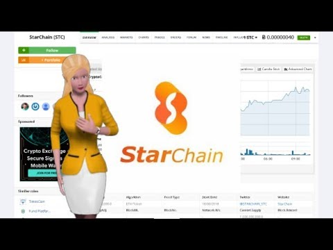 StarChain $STC Gained 66% During the Past Day 2