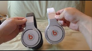 """First Look"" REVISED 2012 White Beats Pro unboxing"