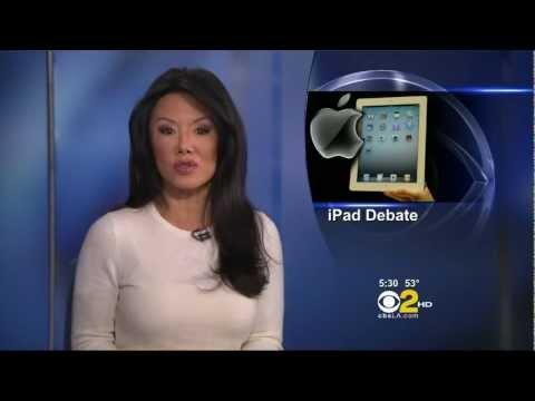 Sharon Tay 2012/12/13 KCAL9 HD