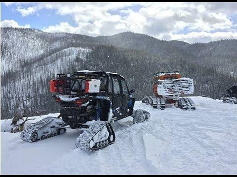 Tucker Sno-Cat & Polaris RZR XPT4 Go On Snow Adventure
