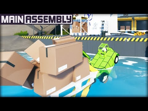 I am the BEST Forklift Driver in the World! (Main Assembly Gameplay) |