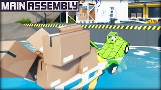 I am the BEST Forklift Driver in the World! (Main Assembly Gameplay)