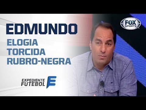 """EDMUNDO: """"TEM QUE PARABENIZAR A TORCIDA DO FLAMENGO"""", Veja!"""
