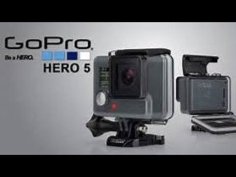 15dfeb08835f5 GoPro HERO5 Black 4K Ultra HD Waterproof Action Camera - YouTube