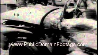 Six Day War June 1967 Israel and Egypt truce uneasy www.PublicDomainFootage.com