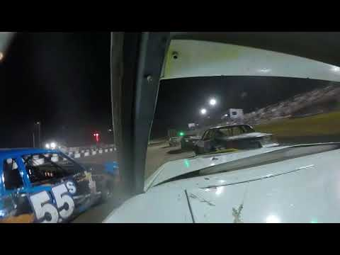 Salina Speedway Coors Light IMCA Stock Cars *A Feature* 7-6-18 (Onboard with 22 Dennis Berry)