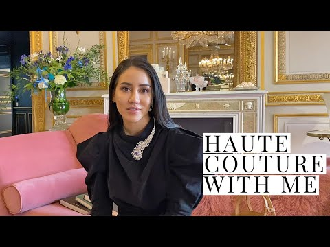 Fashion Week Season Starts, Haute Couture Vlog | Tamara Kalinic
