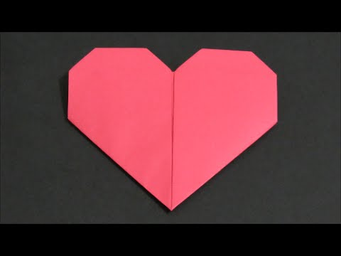 Origami Heart Folding Instructions Youtube