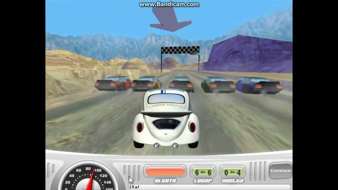 Herbie A Toda Marcha: Herbie : A Toda Marcha (Juego) Gameplay