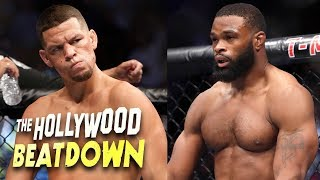 Video Is Nate Diaz vs Tyron Woodley The UFC 219 Main Card? | The Hollywood Beatdown download MP3, 3GP, MP4, WEBM, AVI, FLV September 2018