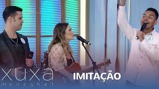 Imitadores disputam prêmio no Xuxa Meneghel